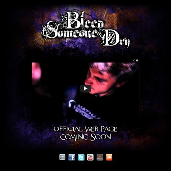 Bleed Someone Dry - Website