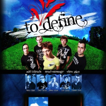 To Define - Myspace